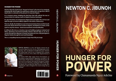 hunger for power. Dr. Newton Jibunoh